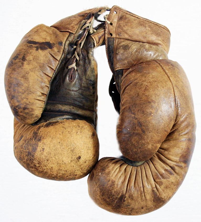 Gants de boxe annees 1920