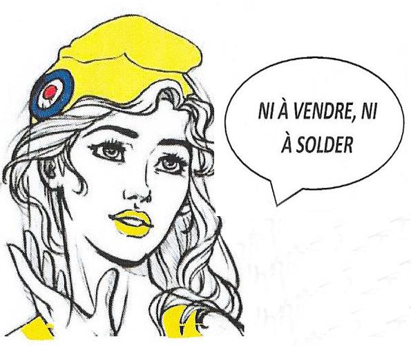 Marianne jaune